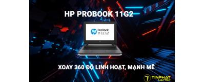 HP ProBook 11G2 xoay 360 độ linh hoạt, mạnh mẽ