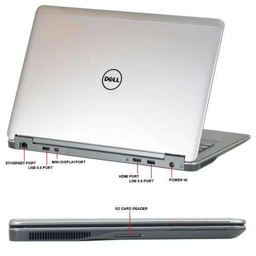 Dell Latitude E7440 đa dạng cổng kết nối