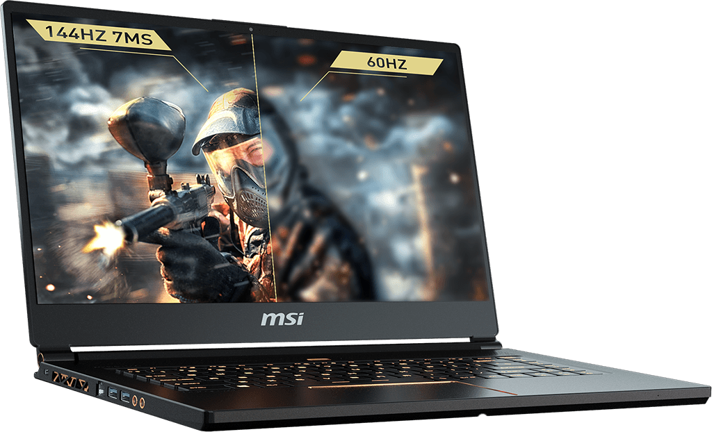 Màn hình MSI GS65 Stealth Thin 8RF 144Hz 7ms
