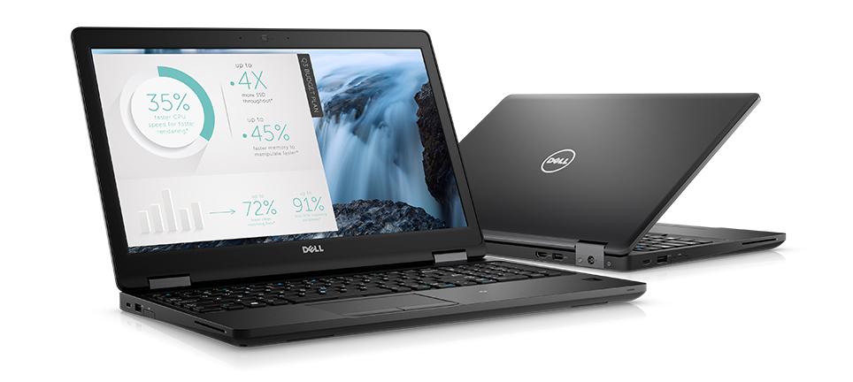 Thiết kế Dell Latitude E5580 tối ưu thanh lịch